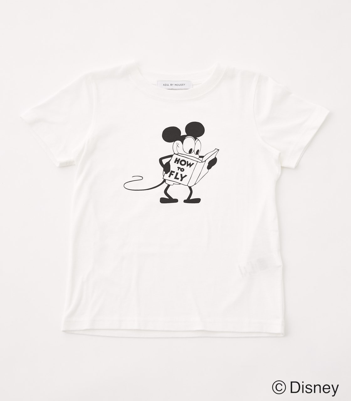 【KIDS】モノクロ OLD MICKEY TEE 詳細画像 WHT 1