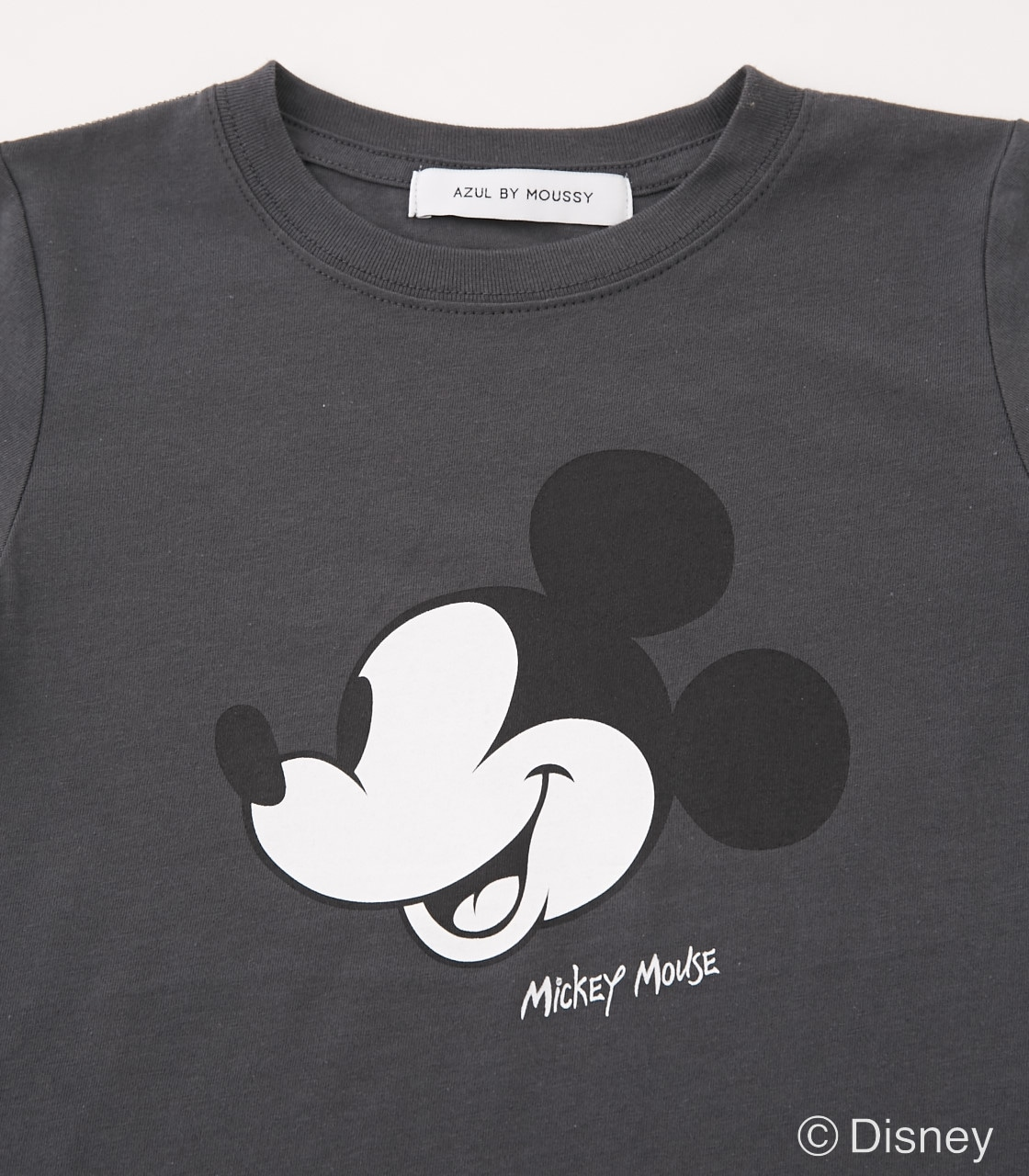 【KIDS】Mickey Mouse TEE 詳細画像 L/BLK 2