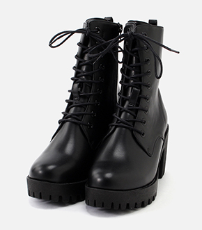LACE UP BOOTS/レースアップブーツ