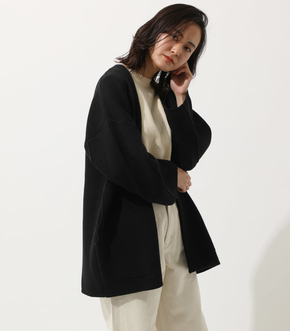 WIDE SLEEVE KNIT GOWN/ワイドスリーブニットガウン
