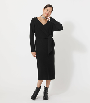 FRONT LINK KNIT ONEPIECE/フロントリンクニットワンピース