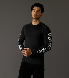 CLUBAZUL COMPRESSION TEE/CLUB AZULコンプレッションTシャツ