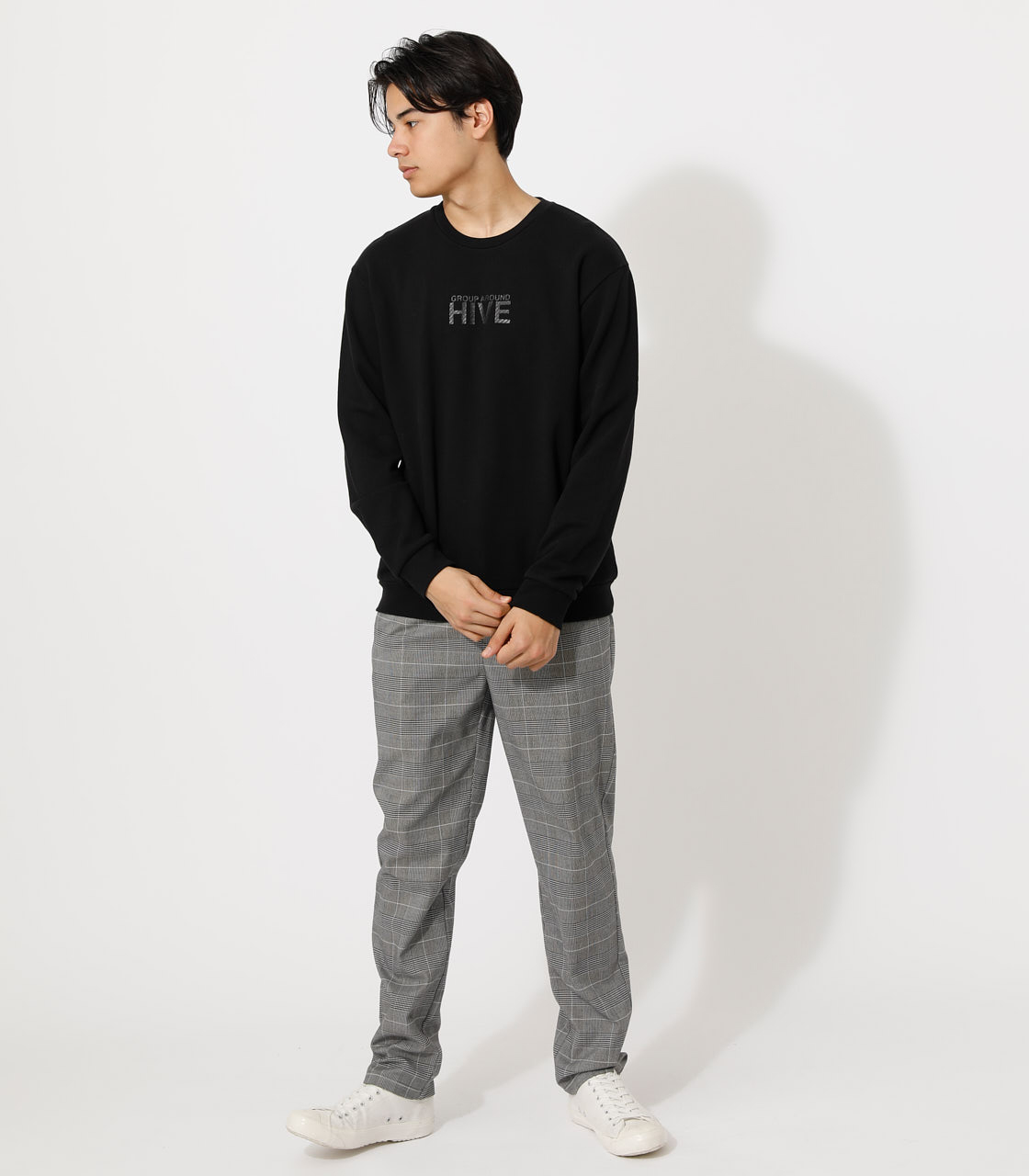 SYNC/HIVE PULLOVER/シンク/ハイブプルオーバー 詳細画像 BLK 3