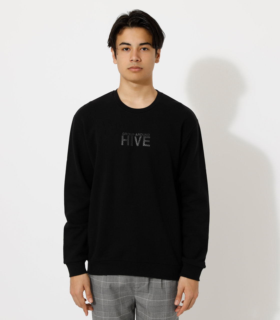 SYNC/HIVE PULLOVER/シンク/ハイブプルオーバー 詳細画像 BLK 4