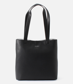 FAUX LEATHER TOTE BAG/フォウレザートートバッグ