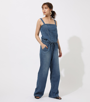 BACK LACEUP OVERALLS