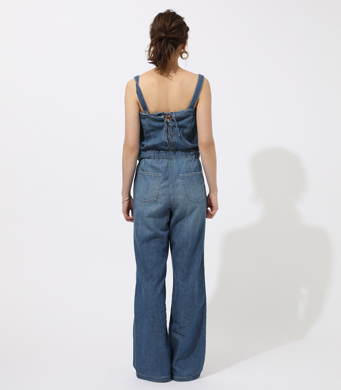 BACK LACEUP OVERALLS 詳細画像 BLU 6