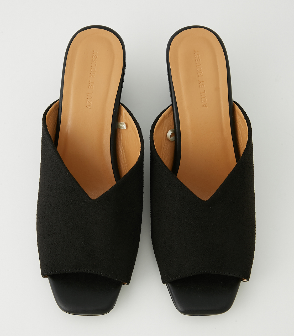V CUTTING SANDALS/Vカッティングサンダル 詳細画像 BLK 3