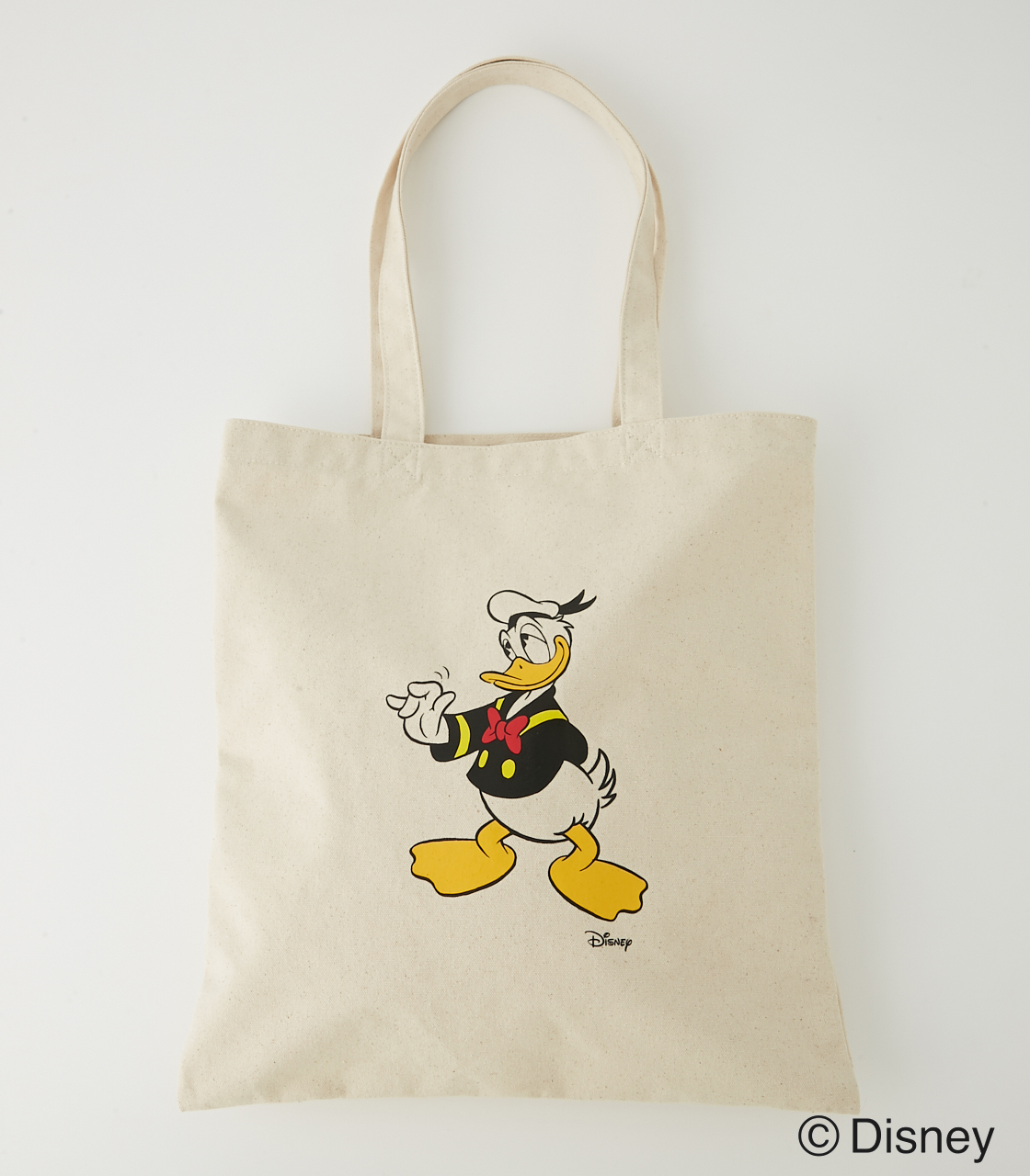 DONALD DUCK TOTE BAG/ドナルドダックトートバッグ 詳細画像 O/WHT 1