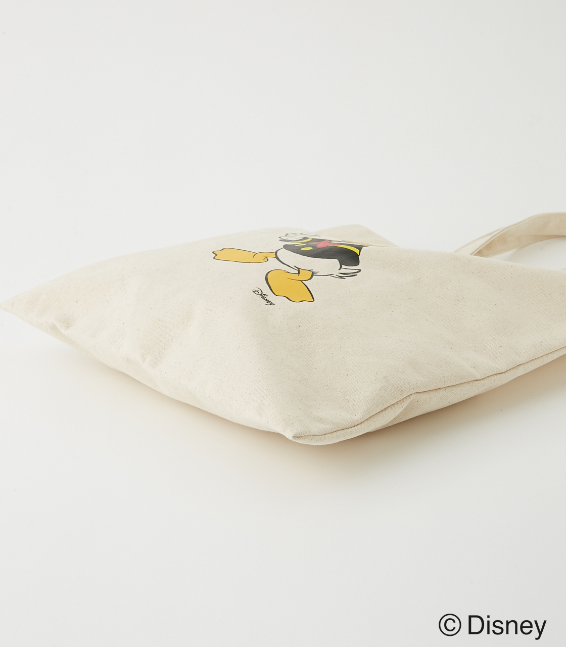 DONALD DUCK TOTE BAG/ドナルドダックトートバッグ 詳細画像 O/WHT 2