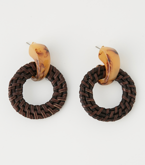 RATTAN HOOD EARRINGS
