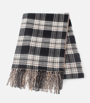 REVERSIBLE CHECK STOLE/リバーシブルチェックストール