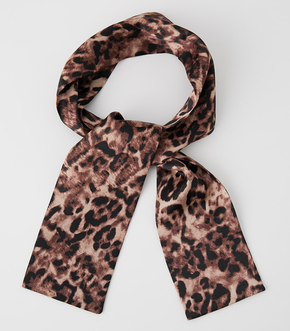 LEOPARD SCARF NECKLACE/レオパードスカーフネックレス