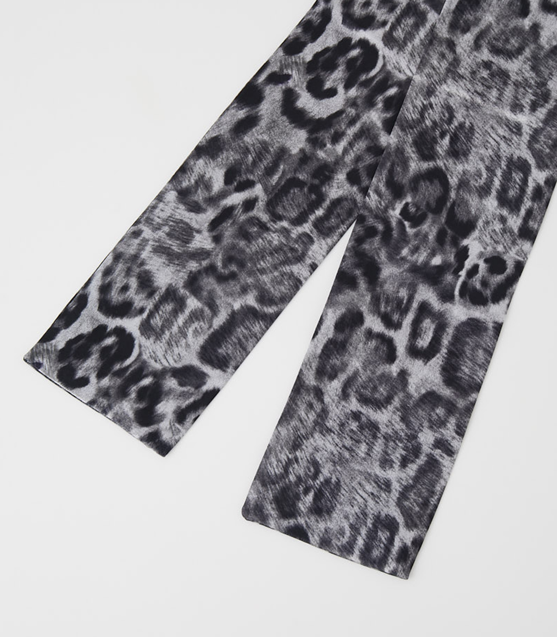 LEOPARD SCARF NECKLACE/レオパードスカーフネックレス 詳細画像 柄GRY 3