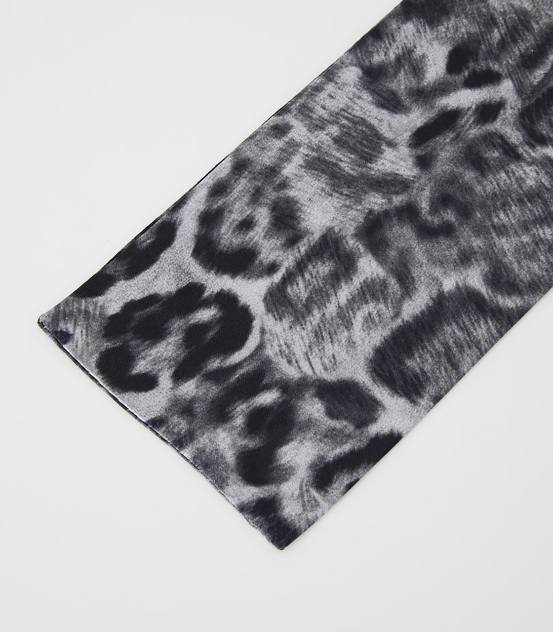 LEOPARD SCARF NECKLACE/レオパードスカーフネックレス 詳細画像 柄GRY 5