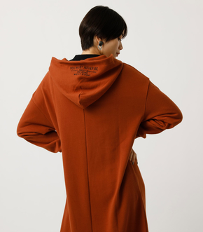 LOGO HOODED ONEPIECE/ロゴフーデッドワンピース 詳細画像