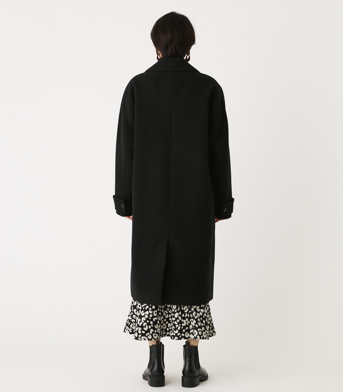 OVER LOOSE CHESTER COAT/オーバールーズチェスターコート 詳細画像 BLK 6