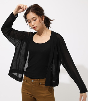 BOXY LOOSE KNIT CARDIGAN