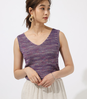 MIX COLOR KNIT TANK