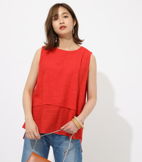 LAYERED SLEEVELESS TOPS