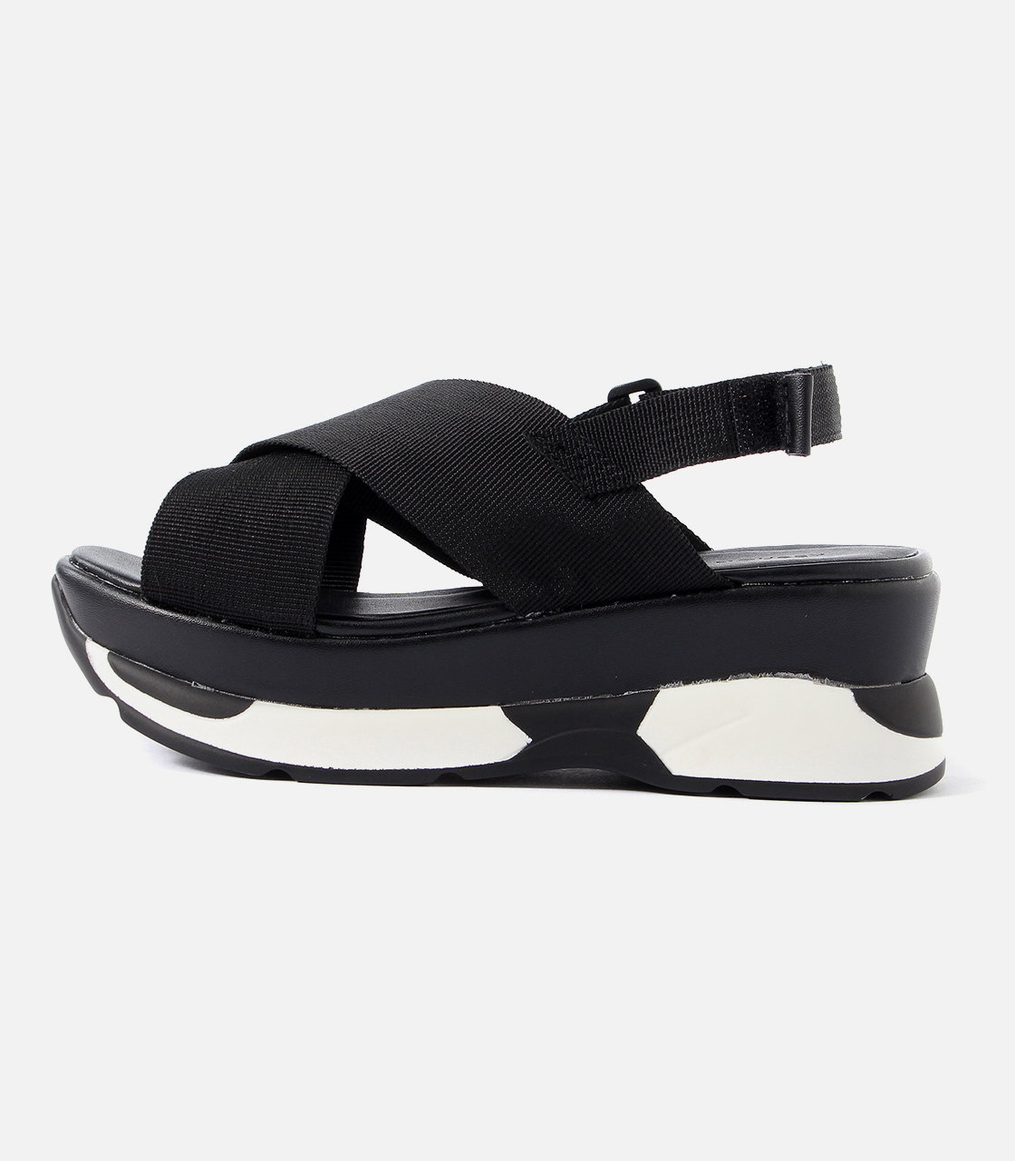 【AZUL BY MOUSSY】CROSS SPORTY SANDALS 詳細画像 柄BLK 2