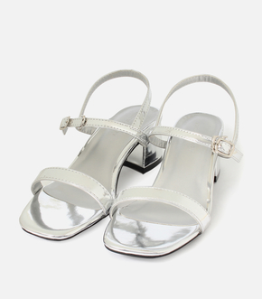 【AZUL BY MOUSSY】SLIM STRAP HEEL SANDALS