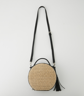 CIRCLE STRAWMESH SHOULDER BAG 詳細画像