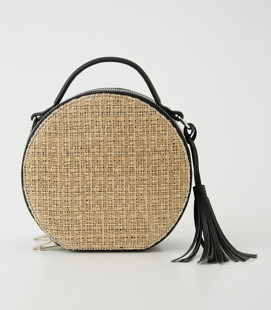 CIRCLE STRAWMESH SHOULDER BAG 詳細画像 柄BLK 2