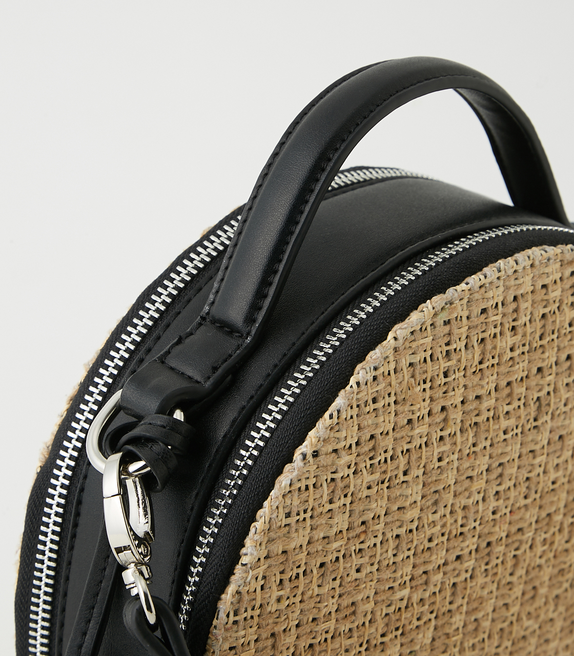 CIRCLE STRAWMESH SHOULDER BAG 詳細画像 柄BLK 5