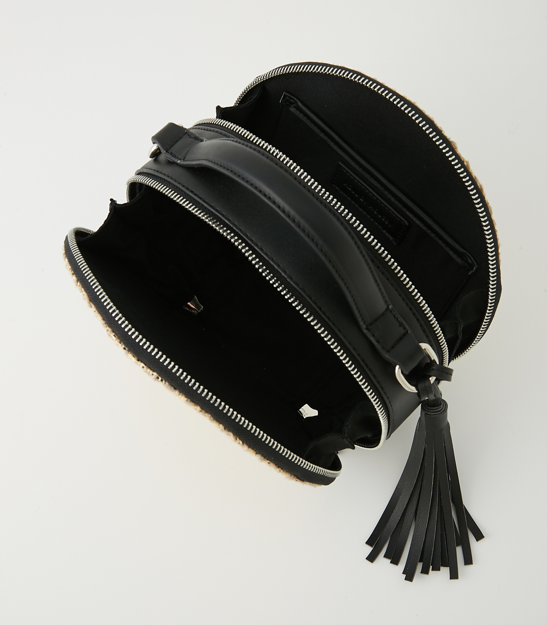 CIRCLE STRAWMESH SHOULDER BAG 詳細画像 柄BLK 6