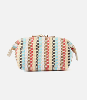 【AZUL BY MOUSSY】PAPER STRIPE POUCH 詳細画像