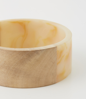 WOOD BLOCKING BANGLE 詳細画像