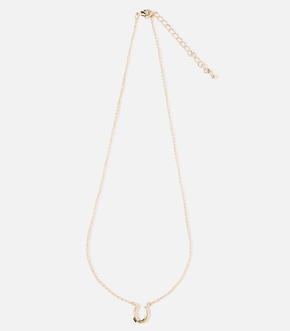 【AZUL BY MOUSSY】T/C HORSE HOOF NECKLACE