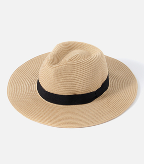 【AZUL BY MOUSSY】STRAW FEDORA HAT