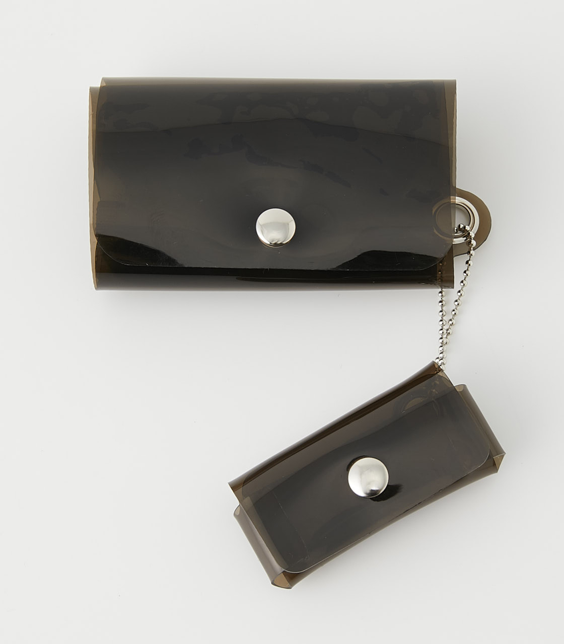 CLEAR MINI WALLET 詳細画像 L/BLK 1