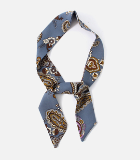 【AZUL BY MOUSSY】PAISLEY SCARF NECKLACE