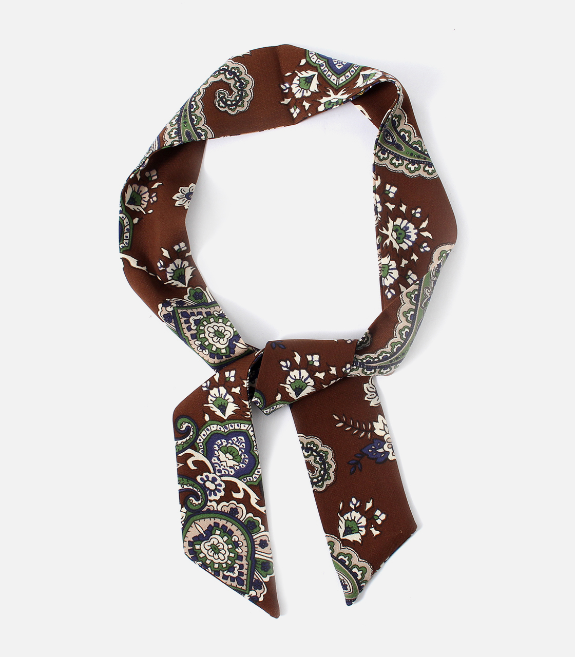 【AZUL BY MOUSSY】PAISLEY SCARF NECKLACE 詳細画像 柄BRN 1