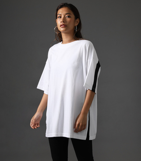 【AZUL BY MOUSSY】CLUB AZUL BACK LINE BIG TEE