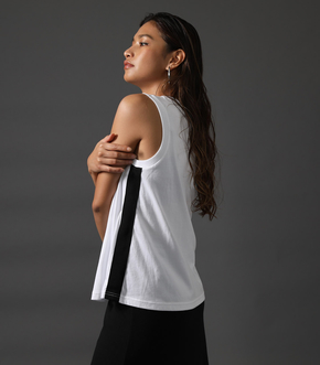 【AZUL BY MOUSSY】CLUB AZUL SIDE LINE TANK