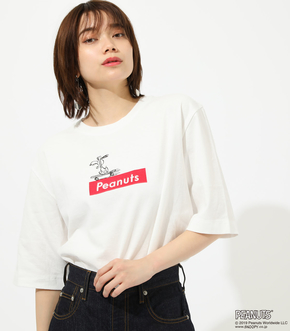 【AZUL BY MOUSSY】Peanuts TEE