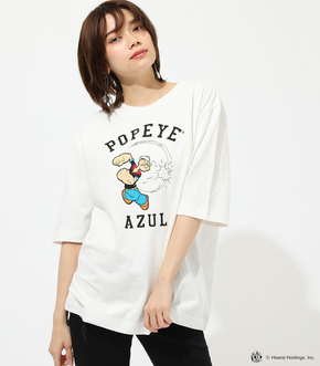 【AZUL BY MOUSSY】POPEYE TEE