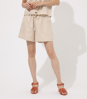 【AZUL BY MOUSSY】RELAX LINEN SHORT PANTS