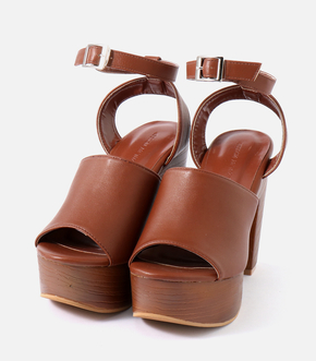 【AZUL BY MOUSSY】WOOD LIKE SANDALS