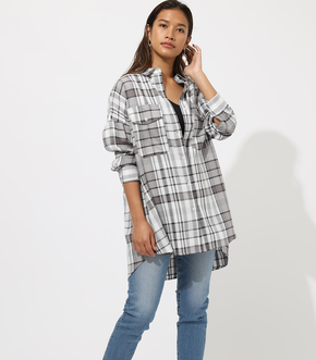 【AZUL BY MOUSSY】CHECK SHIRT