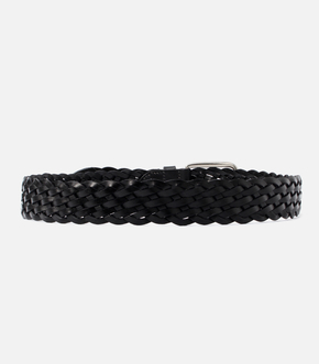 【AZUL BY MOUSSY】MESH LEATHER BELT 詳細画像