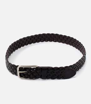 【AZUL BY MOUSSY】MESH LEATHER BELT