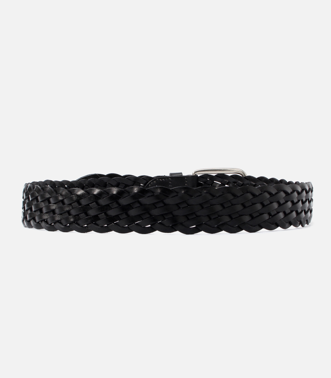 MESH LEATHER BELT 詳細画像 BLK 3