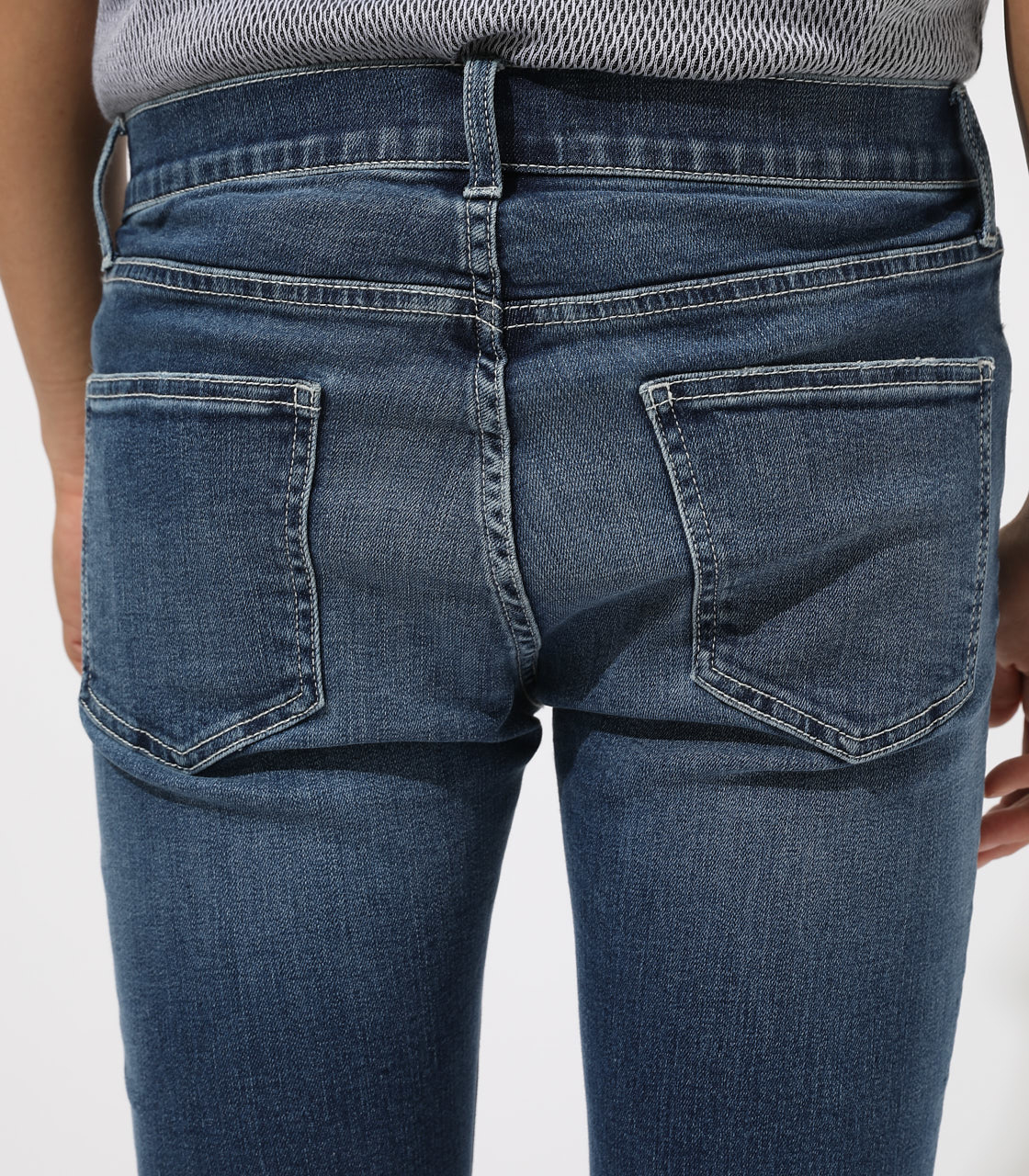 【AZUL BY MOUSSY】WHITE STITCH CRASH SKINNY 詳細画像 BLU 8