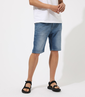 DOBBY DENIM SHORT PANTS