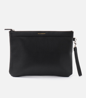 FAKE LEATHER CLUTCH BAG/フェイクレザークラッチバッグ